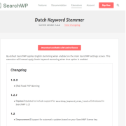 SearchWP: Dutch Stemmer