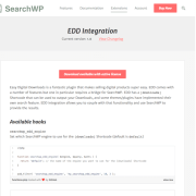 SearchWP: EDD Integration