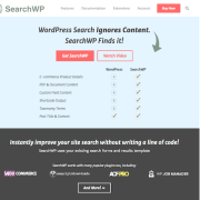 SearchWP: WordPress Plugin