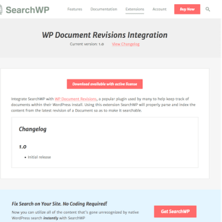 SearchWP: WP Document Revisions Integration