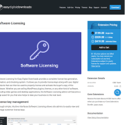 Easy Digital Downloads: Software Licenses