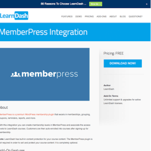 LearnDash LMS Add-On: MemberPress