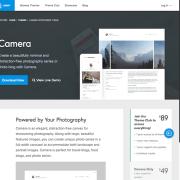 Array Themes: Camera WordPress Theme