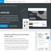 Array Themes: Lenscap WordPress Theme