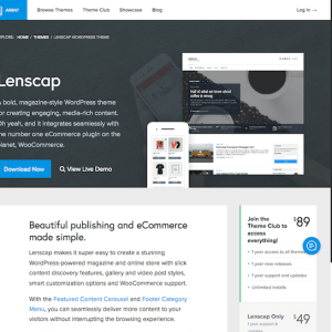 Array Themes: Lenscap WordPress Theme