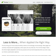 Thrive Themes: Minus WordPress Theme