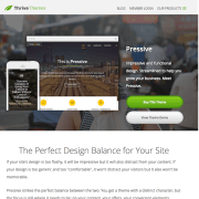 Thrive Themes: Pressive WordPress Theme