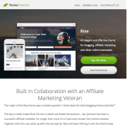 Thrive Themes: Rise WordPress Theme
