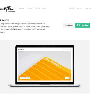 ThemeZilla: Agency WordPress Theme