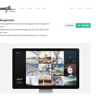 ThemeZilla: Rangefinder WordPress Theme