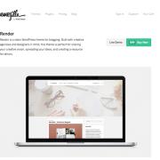 ThemeZilla: Render WordPress Theme