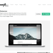 ThemeZilla: Statesman WordPress Theme