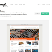ThemeZilla: Studeo WordPress Theme