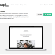 ThemeZilla: Versed WordPress Theme