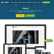CSS Igniter: Factum WordPress Theme