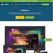 CSS Igniter: Indigamer WordPress Theme