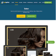 CSS Igniter: Salon WordPress Theme