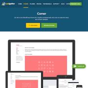 CSS Igniter: Corner WordPress Theme