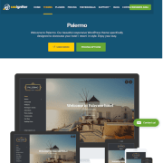 CSS Igniter: Palermo WordPress Theme