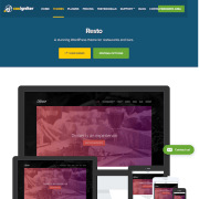 CSS Igniter: Resto WordPress Theme
