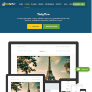 CSS Igniter: Sixtyone WordPress Theme