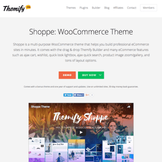 Themify: Shoppe WooCommerce Theme