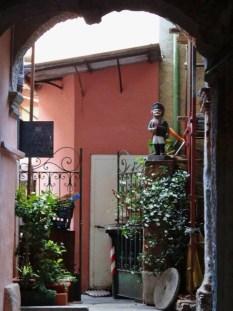 Courtyard in Stresa
