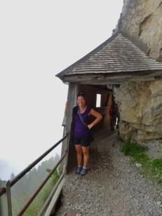 On the Wildkirchli-Aescher Trail