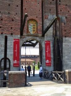 Sforza Castle Entrance