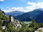 Bormio Valley View from Fraele Towers