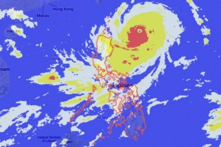 Super Typhoon Odette (source Phil Star)
