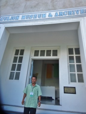 Jun at the Culion Museum