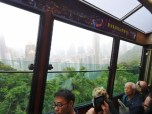 On the Victoria Peak Tram