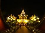 Karaweik Hall After Dark