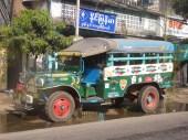 Older Yangon Bus