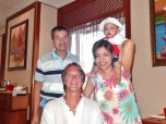With Charlie, Thanda & Baby Kate