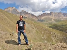 Heyder Aliyev Peak in the Background