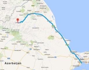 Map Showing Xinaliq