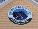 Shahdag National Park Sign