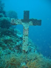 Cross, Dolphin House, Moalboal