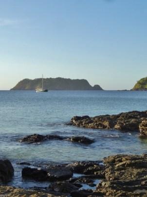 MOKEN at Anchor in Japilao Bay