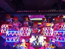 Drummer Girls at Robot Restaurant