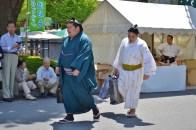 Rikishi with Servant