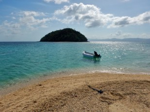 View of Bangug Island from Bonbon
