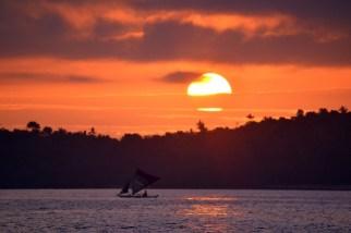 Sunrise Leaving Puerto Galera