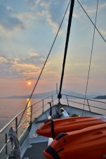 Sunset at Port Binanga