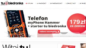 Telefon TuBiedronka Hammer