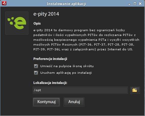 instalacja E-Pity 2