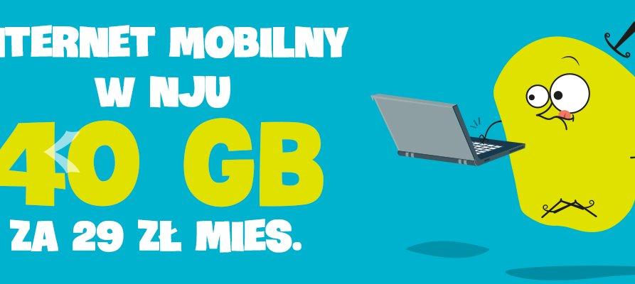 Nowości w ofercie nju mobile – oferta internetu mobilnego i no-limit za 19 zł