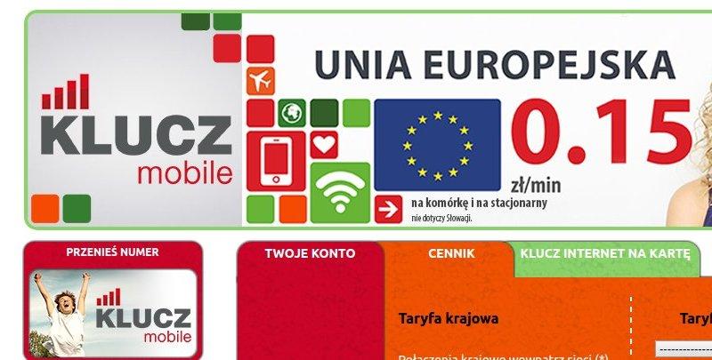 KLUCZ Mobile – cykliczny pakiet NO-LIMIT za 25 zł miesięcznie, w tym 250 minut na Ukrainę